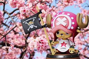 桜とチョッパー