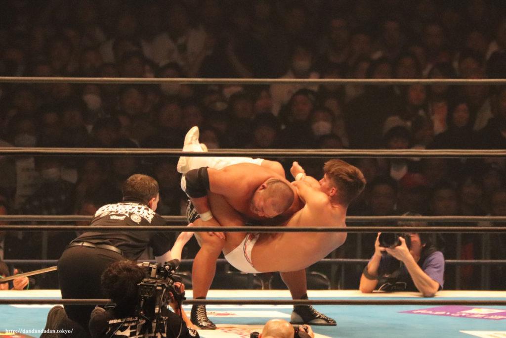 ザック・セイバーJr. vs石井智宏