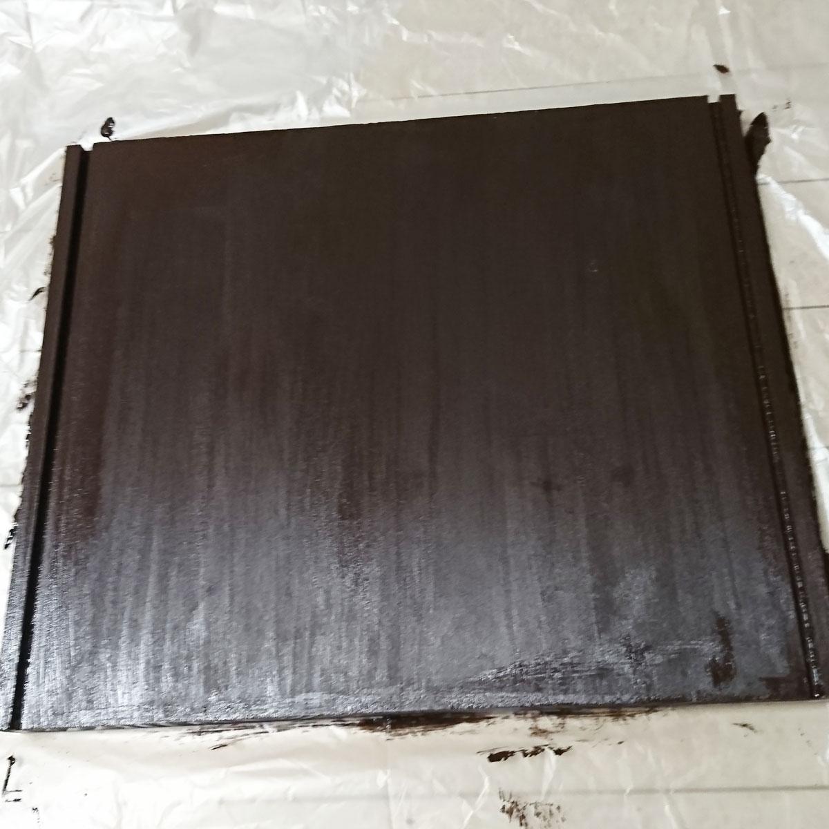 デトルフ連結 追加板 塗装