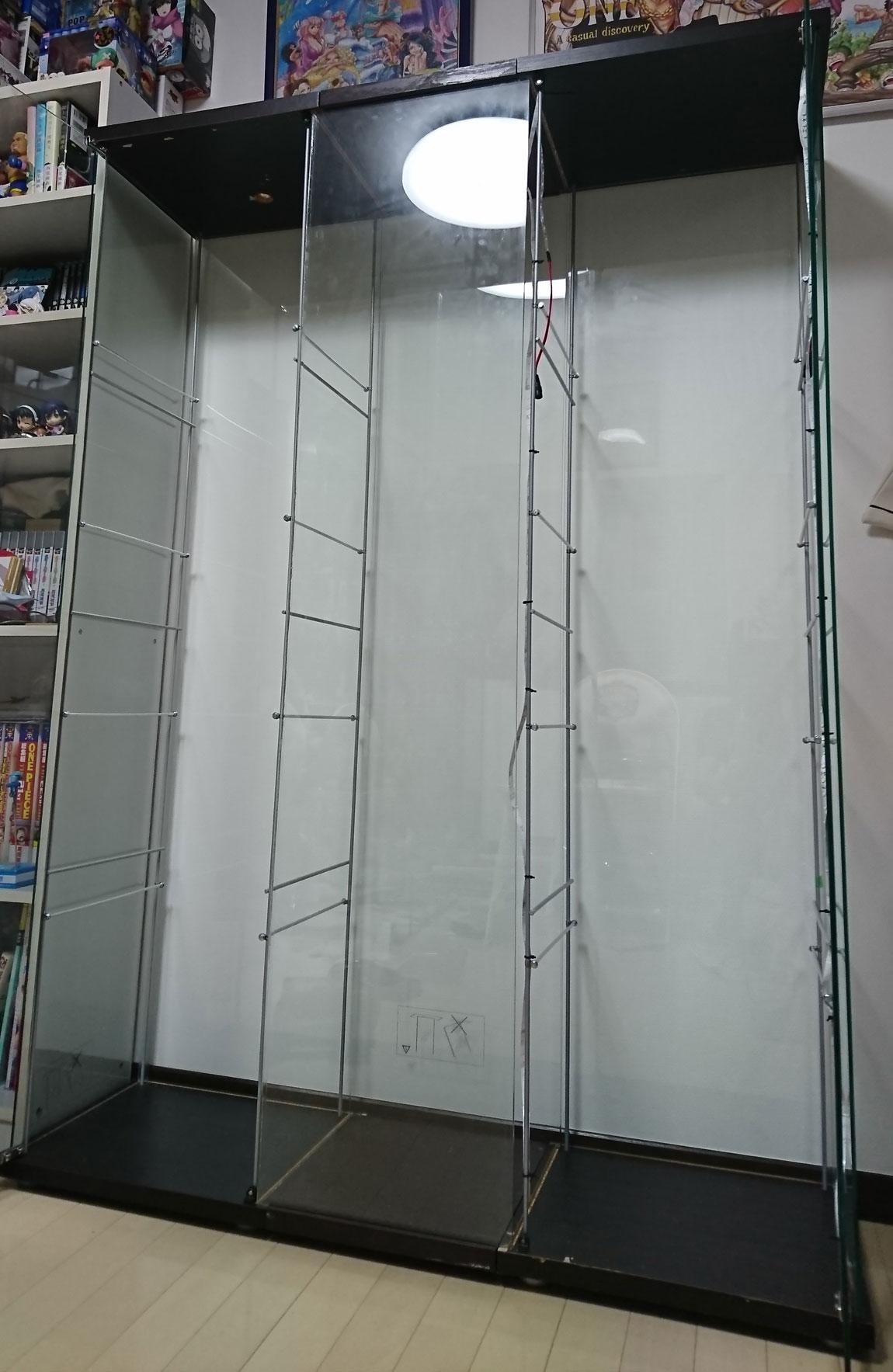 デトルフ ガラス板組み立て